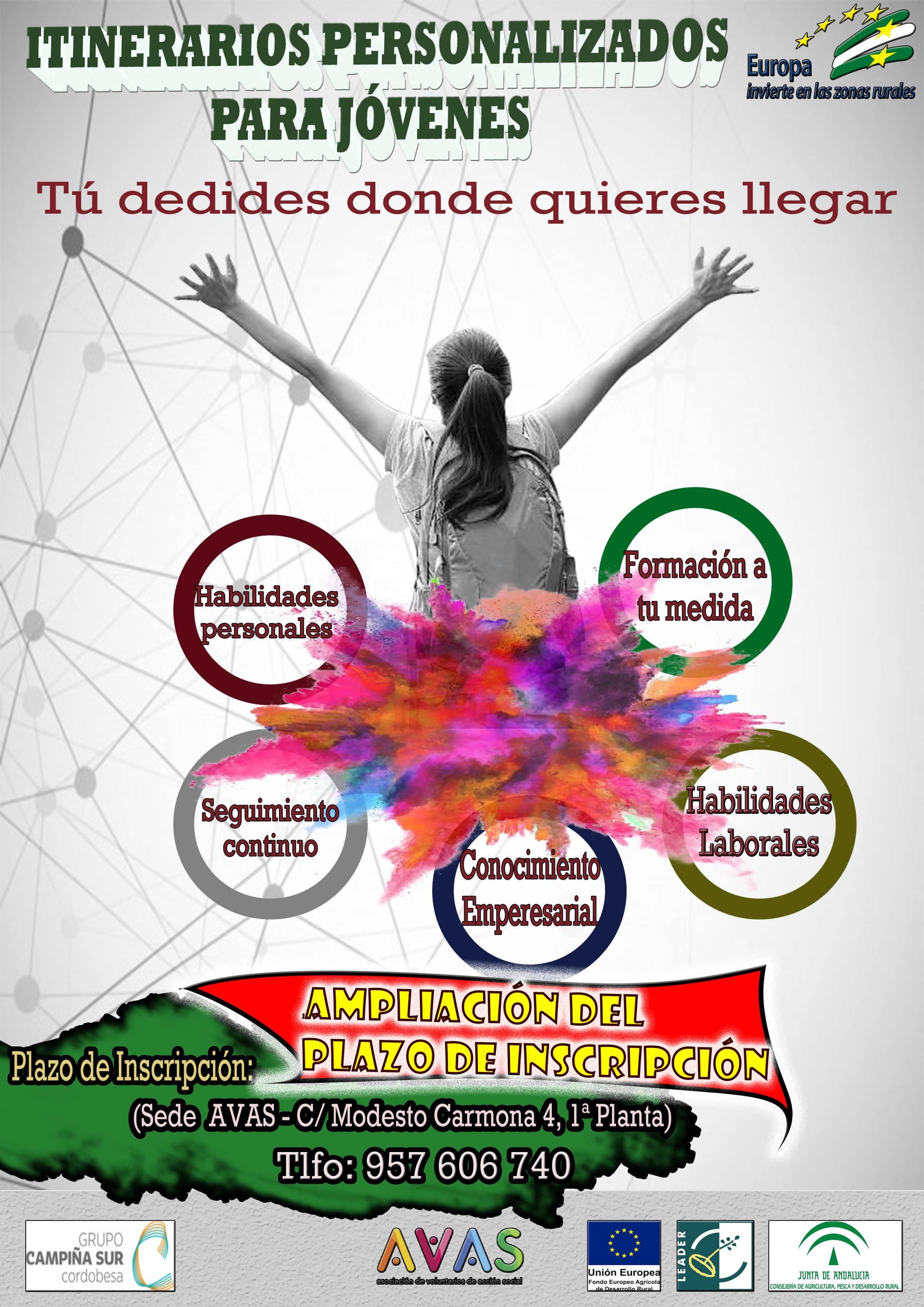AMPLIADO EL PLAZO DE INSCRIPCIÓN - AVAS Puente Genil
